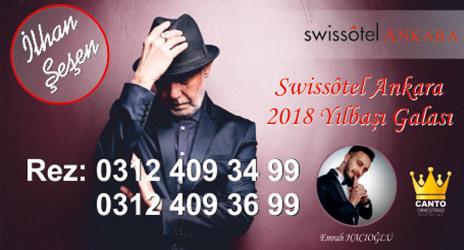 Swissotel Ankara 2018 Yılbaşı Programı