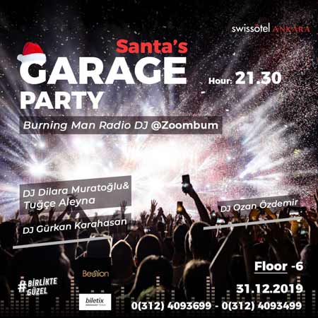 Swissotel Santa's Garage Party 2020