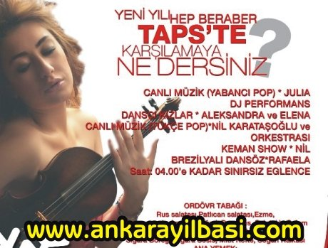 Taps Ankara 2011 Yılbaşı Programı
