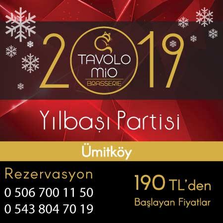 Tavolo Mio Brasserie Yılbaşı 2019