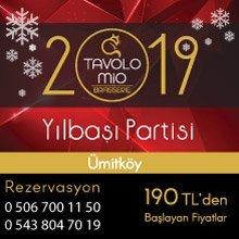 Tavolo Mio Ümitköy Yılbaşı 2019