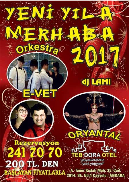 Teb Dora Çayyolu Yılbaşı 2017