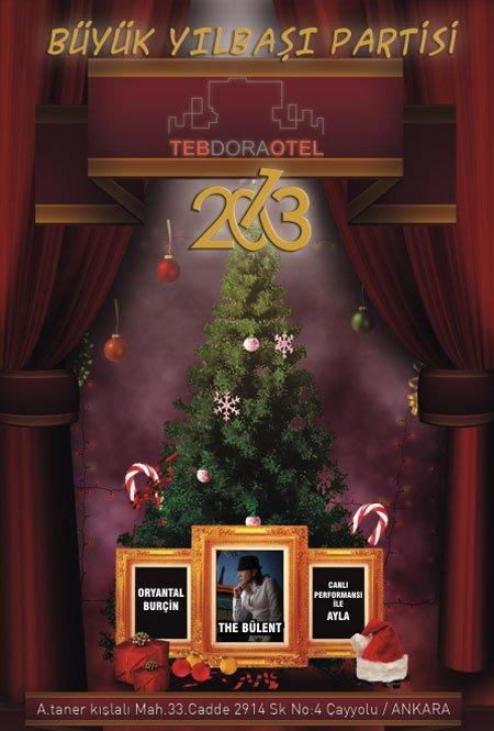 Teb Dora Otel 2013 Yılbaşı Programı