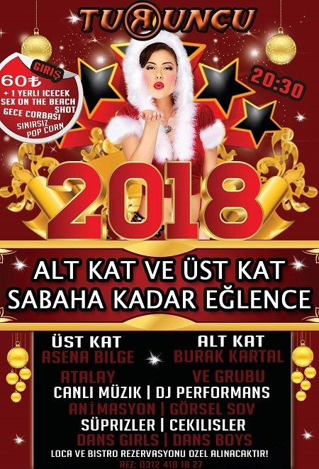 Turuncu Cafe & Pub Yılbaşı 2018