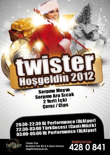 Twister Pub 2012 Yılbaşı Programı