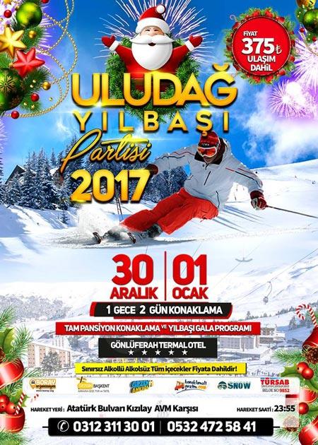 Boray Tour Uludağ Yılbaşı Programı