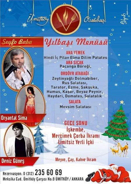 Ümitköy Ocakbaşı Yılbaşı Programı 2015