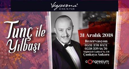 Vesperna Restaurant Ankara Yılbaşı 2019