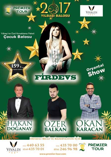 Vivaldi CE Gold Hotel Ankara Yılbaşı 2017