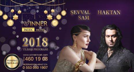 Winner İncek Hotel Yılbaşı 2018
