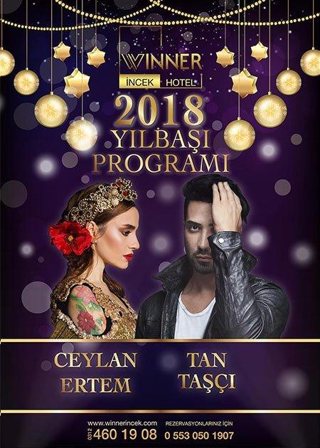 Winner İncek Yılbaşı 2018 – Ceylan Ertem & Tan