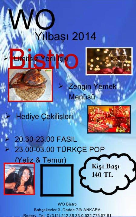 Wo Bistro 2014 Yılbaşı Programı