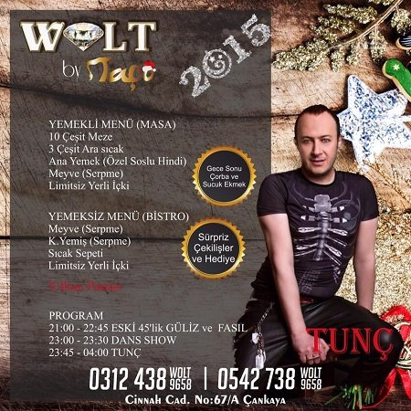 Wolt by Taço 2015 Yılbaşı