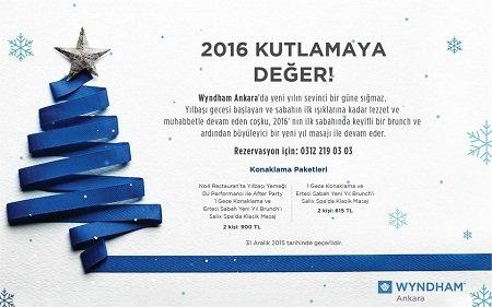 Wyndham Ankara Yılbaşı Programı 2016