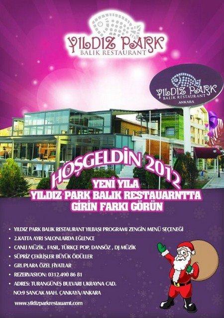Yıldız Park 2012 Yılbaşı Programı