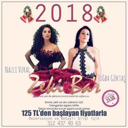 Zeki Bar Ankara Yılbaşı 2018
