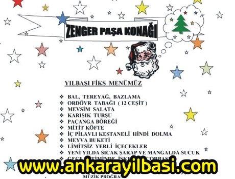 Zenger Paşa Konağı 2011 Yılbaşı Programı
