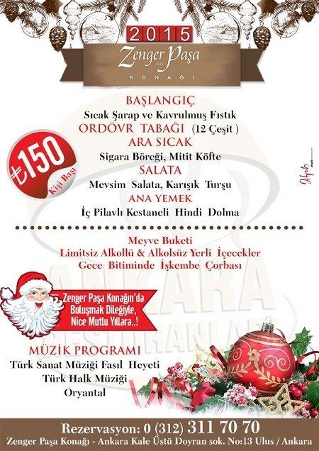 Zenger Paşa Konağı Yılbaşı Programı 2015